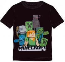 SET 3 KS TRIČKO MINECRAFT, vel. 6,8,10